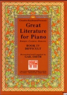Обложка книги  - Great Literature for Piano Book 4 (Difficult)
