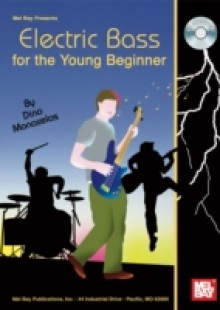 Обложка книги  - Electric Bass for the Young Beginner