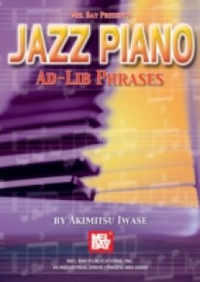 Обложка книги  - Jazz Piano Ad-Lib Phrases