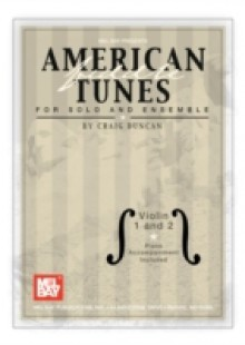 Обложка книги  - American Fiddle Tunes for Solo and Ensemble – Violin 1 and 2