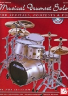 Обложка книги  - Musical Drumset Solos for Recitals, Contests and Fun