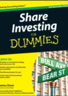 Обложка книги  - Share Investing For Dummies