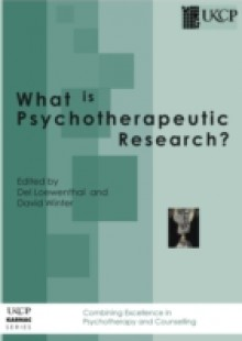 Обложка книги  - What is Psychotherapeutic Research?