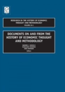 Обложка книги  - Documents on and from the History of Economic Thought and Methodology (Part C)