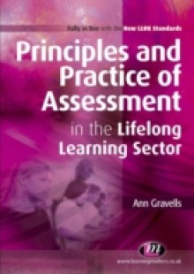 Обложка книги  - Principles and Practice of Assessment in the Lifelong Learning Sector