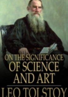 Обложка книги  - On the Significance of Science and Art