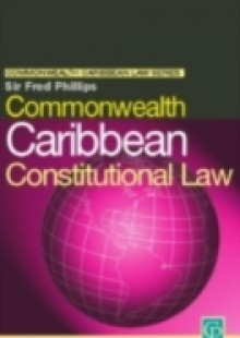Обложка книги  - Commonwealth Caribbean Constitutional Law