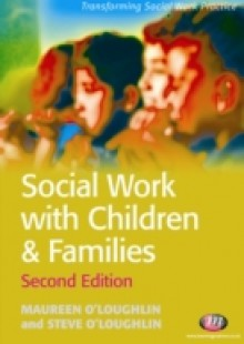 Обложка книги  - Social Work with Children and Families