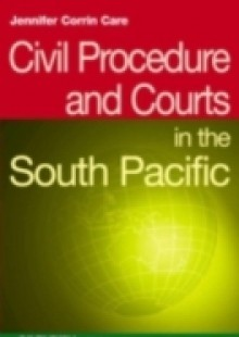 Обложка книги  - Civil Procedure and Courts in the South Pacific