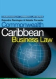 Обложка книги  - Commonwealth Caribbean Business Law