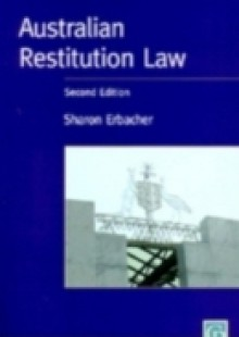 Обложка книги  - Australian Restitution Law