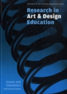 Обложка книги  - Research in Art and Design Education
