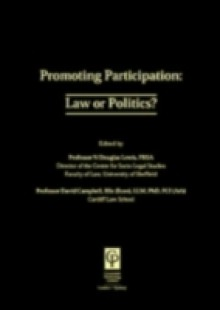 Обложка книги  - Promoting Participation: Law or Politics?