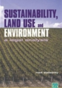 Обложка книги  - Sustainability Land Use and the Environment