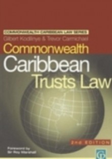 Обложка книги  - Commonwealth Caribbean Law of Trusts