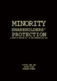 Обложка книги  - Minority Shareholders' Protection