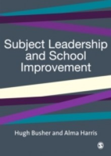 Обложка книги  - Subject Leadership and School Improvement