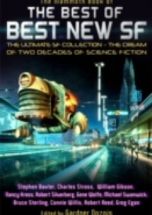Обложка книги  - Mammoth Book of the Best of Best New SF