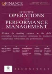Обложка книги  - Effective Operations and Performance Management
