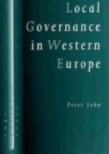 Обложка книги  - Local Governance in Western Europe
