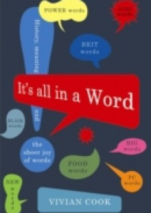 Обложка книги  - It's All in a Word