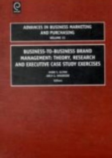 Обложка книги  - Business-to-Business Brand Management
