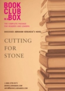 Обложка книги  - Bookclub-in-a-Box Discusses Cutting For Stone, by Abraham Verghese