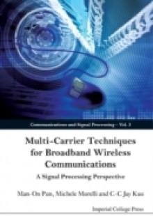 Обложка книги  - Multi-carrier Techniques For Broadband Wireless Communications: A Signal Processing Perspective