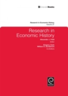 Обложка книги  - Research in Economic History