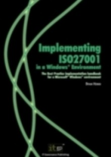 Обложка книги  - Implementing ISO27001 in a Windows (R) Environment