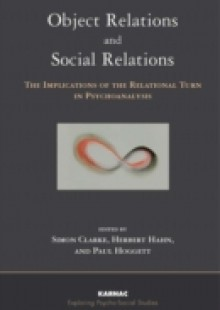 Обложка книги  - Object Relations and Social Relations