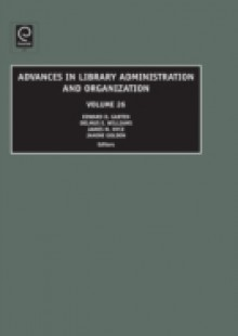 Обложка книги  - Advances in Library Administration and Organization