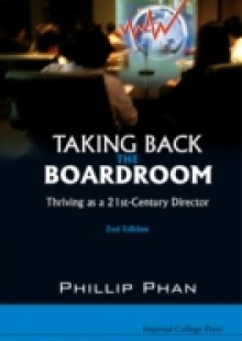 Обложка книги  - Taking Back The Boardroom: Thriving As A 21st-century Director (2nd Edition)