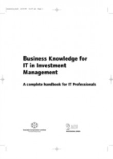 Обложка книги  - Business Knowledge for IT in Investment Management