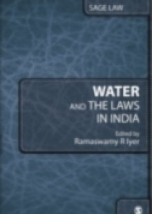 Обложка книги  - Water and the Laws in India