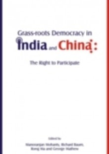 Обложка книги  - Grass-Roots Democracy in India and China