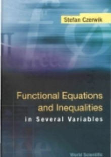 Обложка книги  - Functional Equations And Inequalities In Several Variables