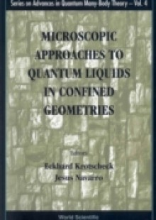 Обложка книги  - Microscopic Approaches To Quantum Liquids In Confined Geometries