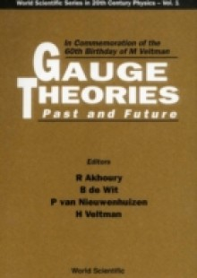 Обложка книги  - Gauge Theories, Past And Future: In Commemoration Of The 60th Birthday Of Prof M Veltman