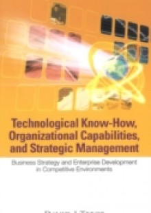Обложка книги  - Technological Know-how, Organizational Capabilities, And Strategic Management: Business Strategy And Enterprise Development In Competitive Environments
