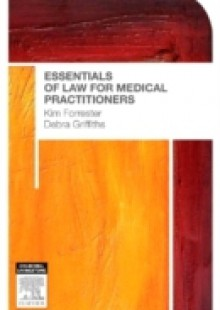 Обложка книги  - Essentials of Law for Medical Practitioners