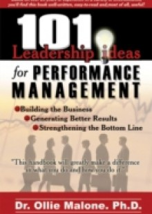Обложка книги  - 101 Leadership Actions For Performance Management