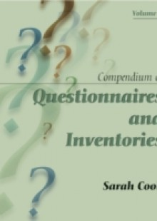 Обложка книги  - Compendium of Questionnaires and Inventories Volume 1