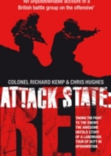 Обложка книги  - Attack State Red