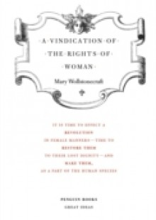 Обложка книги  - Vindication of the Rights of Woman