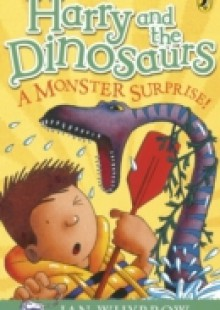 Обложка книги  - Harry and the Dinosaurs: A Monster Surprise!