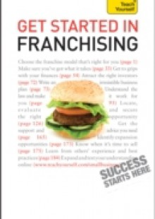 Обложка книги  - Get Started in Franchising: Teach Yourself