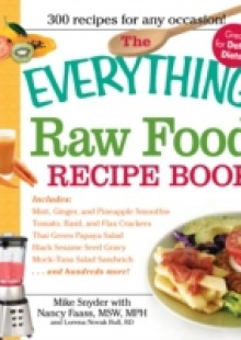 Обложка книги  - Everything Raw Food Recipe Book