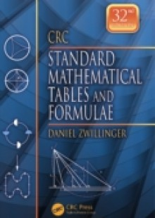 Обложка книги  - CRC Standard Mathematical Tables and Formulae, 32nd Edition
