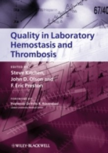 Обложка книги  - Quality in Laboratory Hemostasis and Thrombosis